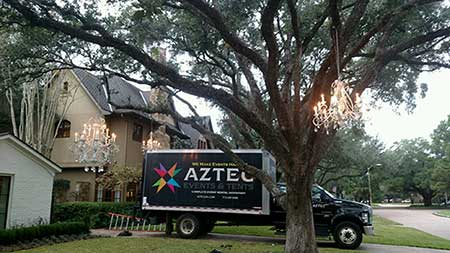 Aztec Events & Tents in Houston Texas