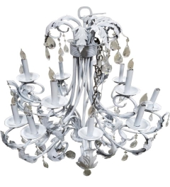 Rental store for CHANDELIER, LARGE WHITE in Houston TX