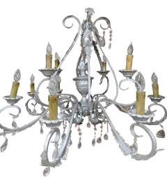 Rental store for CHANDELIER, MEDIUM SILVER in Houston TX