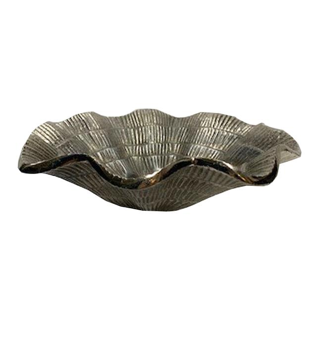Where to find BOWL, SIL RUFFLE SHELL 10  X 2.5 in Houston