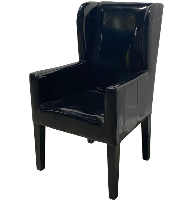 Where to find LNG, PATENT ARM CHAIR BLK KARA in Houston