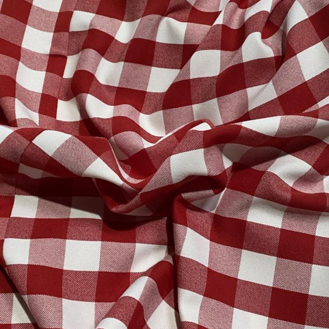 Where to find LINEN - RED GINGHAM in Houston