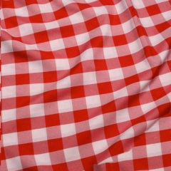 Rental store for UMBRELLA LINEN - CARDINAL GINGHAM in Houston TX