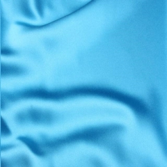 Rental store for PILLOW COVER - AQUA  TURQUOISE  SATIN in Houston TX