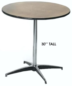 Rental store for PEDESTAL TABLES in Houston TX