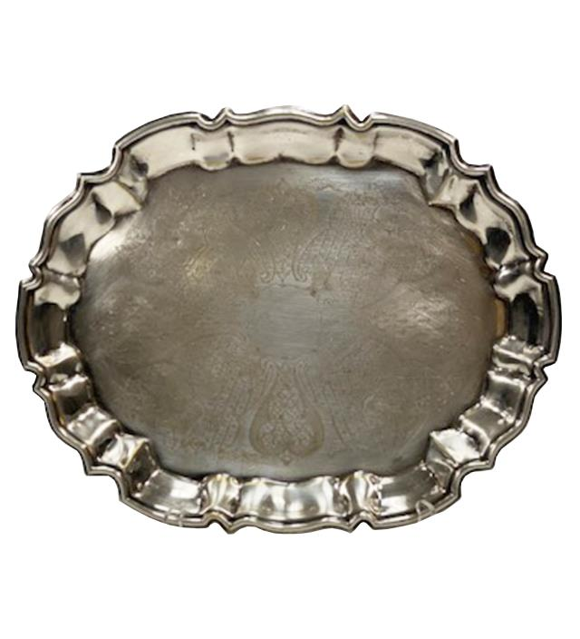 Where to find TRAY - SILVER OVAL in Houston