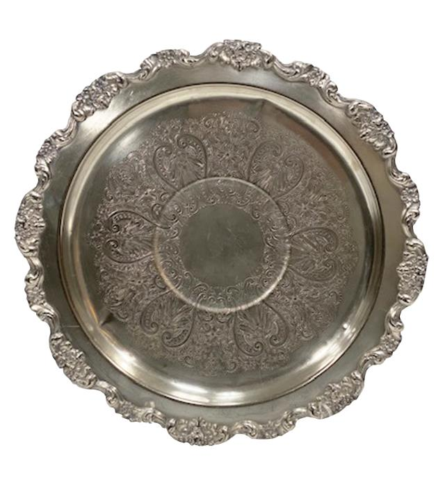 Where to find TRAY - SILVER ROUND in Houston