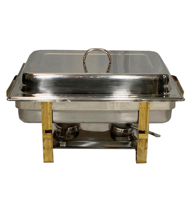 Where to find CHAFER - STAINLESS STEEL BRASS in Houston