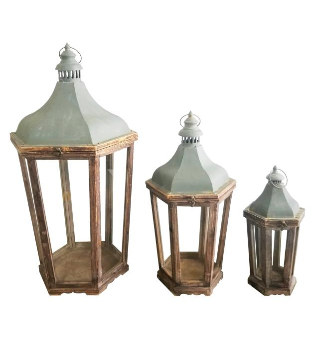 Where to find LANTERN - WOOD METAL in Houston