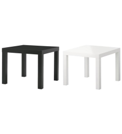 Rental store for LOUNGE - END TABLE BLACK   WHITE in Houston TX