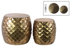 Rental store for LOUNGE - END TABLE LATTICE GOLD in Houston TX