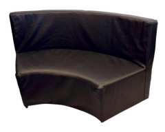 Rental store for LOUNGE - CURVE SETTEE in Houston TX