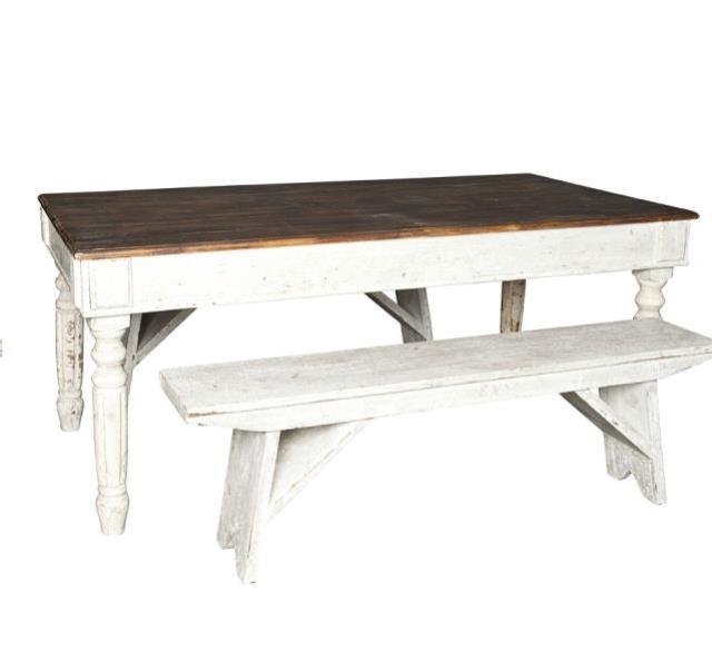 Lounge Vintage Harvest Table Bench Rentals Houston Tx Where To Rent Lounge Vintage Harvest Table Bench In Houston Texas